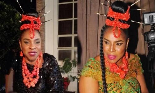Nollywood Superstar: Liz Benson's Wedding to Great Emeya