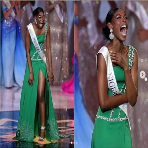 Miss Nigeria Nyekachi Douglas lost to her friend in the Miss World pageant, but her reaction is winning people's hearts