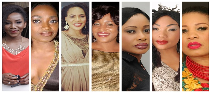 INT'L WOMEN'S DAY: 20 STAR women who shaped Nollywood